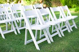 renting chairs for a wedding white resin folding garden chair rental in milwaukee and wisconsin
