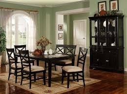 Awesome Black Dining Room Table Set Gallery Room Design Ideas - Black wood dining room set