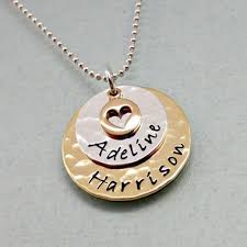 personalized gold necklaces personalized gold necklaces sted jewelry sted