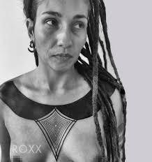 breast tattoo by 2 spirit tattoo