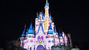 2015 celebrate the magic christmas holiday finale projection