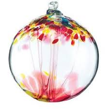 recycled glass tree globes relationships motherhood family