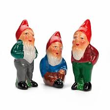 handmade garden ornaments gnomes wooden birds manufactum