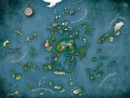 Fantasy World Map by Crafting Plausible Maps U2013 Mythcreants