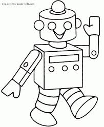cute robot coloring pages coloringstar pictures print free