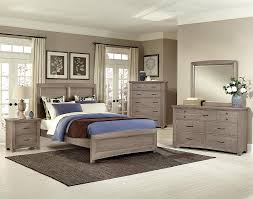 Driftwood Bedroom Furniture All American Transitions 4 Panel Bedroom Set In Driftwood Oak
