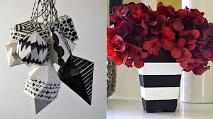 35 diy room decor ideas in black and white diy projects for