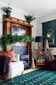 decorations for gorgeous faux fireplace mantel
