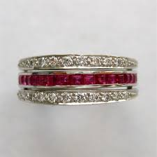 ruby eternity ring a sapphire ruby and diamond eternity ring bentley skinner