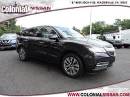 Used Acura Sports Car For Sale Acura Mdx For Sale Pennsylvania New Or Used Acura Mdx Near