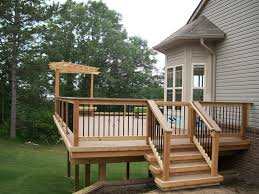 Pergola Plans Free by Deck With Pergola Ideas Deck Design And Ideas