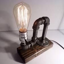 Edison Bulb Table Lamp Classic Style Edison Bulb Table Lamp In From Urbanindustrialcraft