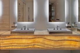 Bamboo Bathroom Cabinet New York Bamboo Bathroom Vanity Contemporary With Dual Sink