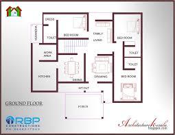 1197 sq ft 3 bedroom villa in cents plot house design plans for
