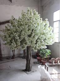sale cheaper white artificial tree in wedding decoration