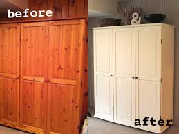 White Painted Pine Bedroom Furniture He Was Just Pining For A Makeover Har Har We Are Punny