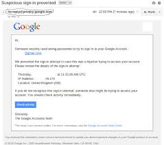 Gmail Login Mail Sign In Attempt Prevented Email From