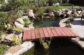 Backyard Bridge Japanese Zen Garden Bridge Low Arch