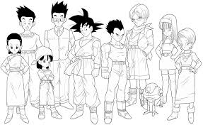 coloring pages dragon ball dragon ball z coloring pages cell