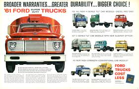 Old Ford Truck Cab - 61 super duty trucks ad and other old ads ford truck fanatics
