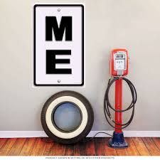 Abbreviation For Bathroom Maine Me State Abbreviation Wall Decal Travel Decor