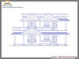 sample house design floor plan houses sample design kerala home floor plans house plans 17548