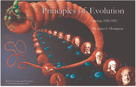 web resources for dr thompson u0027s principles of evolution students