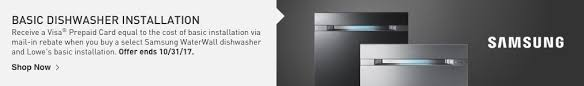 home depot water wall dishwasher black friday shop dishwashers at lowes com