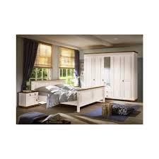 Schlafzimmer Betten Aus Holz Sevilla Schlafzimmer Set 4 Tlg Kiefer Massiv Weiß Lackiert Schrank