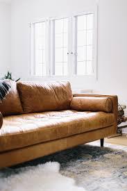 Modern Brown Leather Sofa Bjyohocom - Contemporary leather sofas design