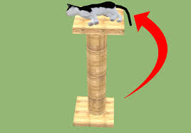 Cat Gyms How To Choose A Cat Scratching Tree 11 Steps Wikihow