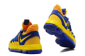 2017 nike kd 10 yellow blue s basketball shoes for sale nike
