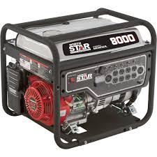 northstar portable generator u2014 8000 surge watts 6600 rated watts