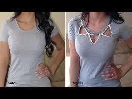 Famosos Camiseta customizada com lantejoulas e strass by Customização  @ET53