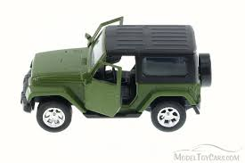2014 green jeep wrangler 2014 jeep wrangler truck green 97053 1 32 scale diecast