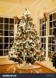 decorating christmas tree with ribbon u2013 decoration image idea