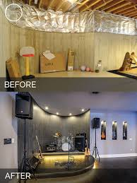 basement before and after elegant crawl space to basement