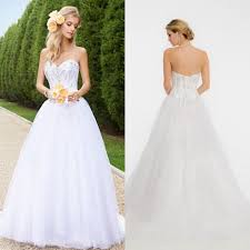 simple wedding dresses discount bling bling simple wedding dresses a line sweetheart