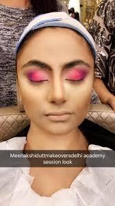 Makeup And Hair Classes Makeup And Hair Classes In Full Swing At Meenakshi Dutt