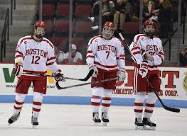 no 11 men u0027s hockey falls to vermont in series opener the daily