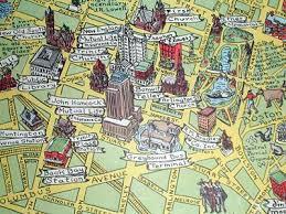 boston tourist map boston tourist map george glazer gallery antique maps boston