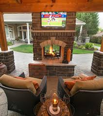 Backyard Idea Best 25 Outdoor Fireplace Patio Ideas On Pinterest Outdoor