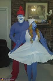 Smurf Halloween Costumes Papa Smurf Smurfette Couple Costumes