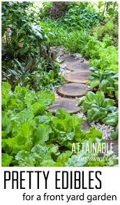 Permaculture Urban Garden Grow A Pretty Front Yard Vegetable Garden Homestead Urban Farm