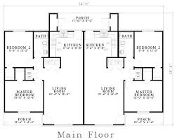 Multi Family Homes Floor Plans 31 Best Duplex Images On Pinterest Duplex Plans Family House
