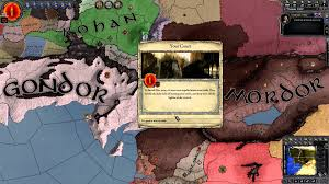 Lord Of The Rings World Map by The Middle Earth Project Crusader Kings Ii Lord Of The Rings Mod