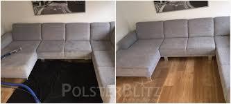 polsterreinigung sofa reinigung polsterreinigung schnell zuverlässig vorher