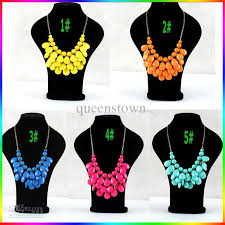 multi statement necklace images Wholesale bib statement necklace chunky multi layers resin gem jpg