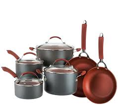 Cuisinart Dishwasher Safe Anodized Cookware Cooksessentials Hard Anodized Dishwasher Safe 10 Piece Cookware