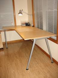 Ikea Table Top by Furniture Simple White Ikea Galant Desk With A Legs And Cozy